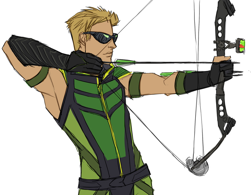 emerald-archer-green-arrow-280588_800_622