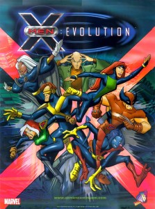 X-Men Evolution capa