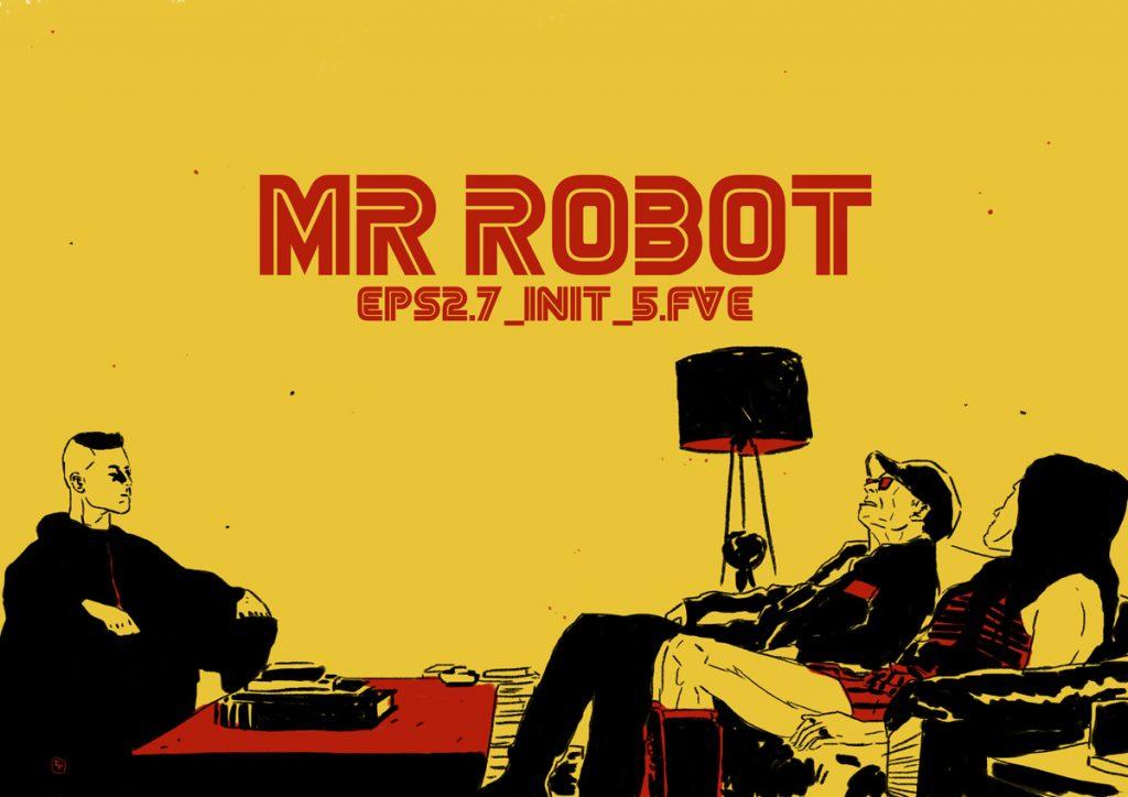 Mr Robot S01E09 cores